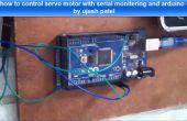 Comment contrôler le moteur servo avec arduino et fenêtre de surveillance série