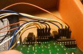 Matrice de LED Arduino avec Wii Nunchuck contrôle