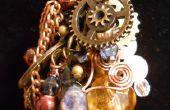 Collier steampunk Collage