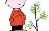 Un Stand d'arbre de Noël traditionnel en 3 étapes faciles--Charlie Brown Style
