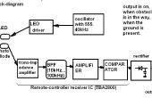 Capteur infrarouge sol/objet pour la navigation de robot