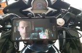 Comment installer un support de téléphone de RAM sur une moto