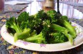 4 minute cuit à la vapeur brocolis