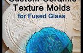 Texture en céramique personnalisée moules pour le verre fondu