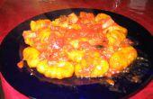 Potiron gnocchis sauce tomate Olive