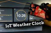Horloge météo Arduino IoT
