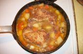 Braisé de poulet Pot un repas