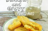 Vegan sexy Biscuits (w / Country Gravy)