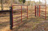 Comment accrocher un portail/barrière de ferme