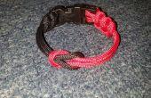 Bracelet en paracorde vache attelage & boucle