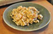 Riz frit à la chinoise de végétarien