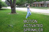 Gardez les indésirables visiteurs avec une Motion activé arroseur
