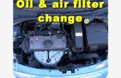 Huile, filtre à huile et filtre à air changer sur une Citroen C3 2006-2008