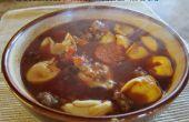 Saucisse italienne et soupe Tortellini