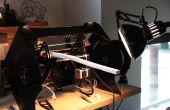 L'imprimante 3D Lum : abaisser le châssis et Module de convoyeur pour Infiniprinting