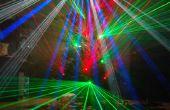 Arbre de Noël au laser