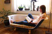 Canapé de baignoire sur pattes DIY