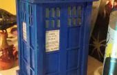 Balsa bois TARDIS