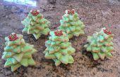 Astucieux 3D Christmas Tree Cookies, excellente à manger ou à donner !