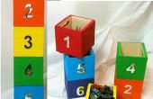 Stackable Toy Boxes
