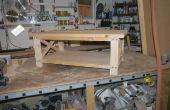 Table basse rustique construire de A