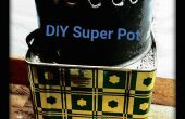 BRICOLAGE Pot Super pour les poêles de la fusée