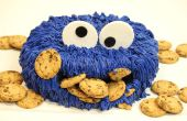 COMMENT FAIRE UN GÂTEAU DE COOKIE MONSTER !