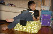 Comment coudre un coussin de sol Pouf élégant