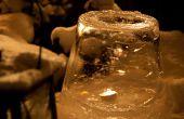 Faire une lanterne fantaisie glace à l'aide d'un seau