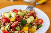 Recette de salade de sarrasin sains
