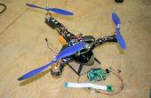 Entrée-sortie de simple framboise Pi. Tricopter