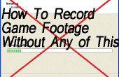 Comment faire pour enregistrer des images jeu Jeux PC sans avoir à télécharger un programme !