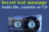 Un Message secret en Audio