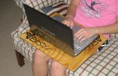 Sur mesure plateau ordinateur portable