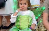 Costume fée Clochette avec des ailes de lumière-up pour tout-petit