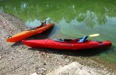 Rincer le porte-cannes à monter dans un Kayak de 120 Pungo
