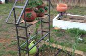 Treillis en métal pour jardin vignes