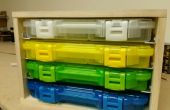 Caddie de boîte Plano 3650 series storage