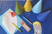 Tutoriel : Comment faire des chapeaux de fête Simple de Chima
