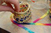 Chanvre et ruban Crochet bijoux