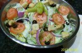 De Olive Garden salade et vinaigrette recette piraté