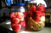 Observations concernant les méthodes de stockage de fraise