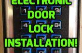 Serrure électronique installer DIY !