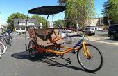 Tandem sociable Cargo Trike