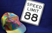 88 MPH vers les panneaux de vitesse Future