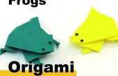 Comment Origami une grenouille