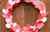 Doré coeur Valentine Couronne