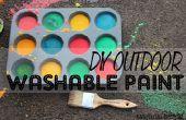 BRICOLAGE peinture extérieure lavable de trottoir