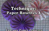 Comment fabriquer du papier en forme de Rosettes