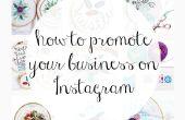 Comment promouvoir votre entreprise sur Instagram